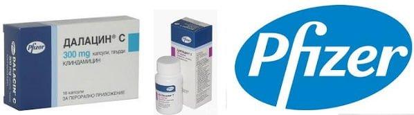 Клиндамицин, Далацин С при синузит, лечение